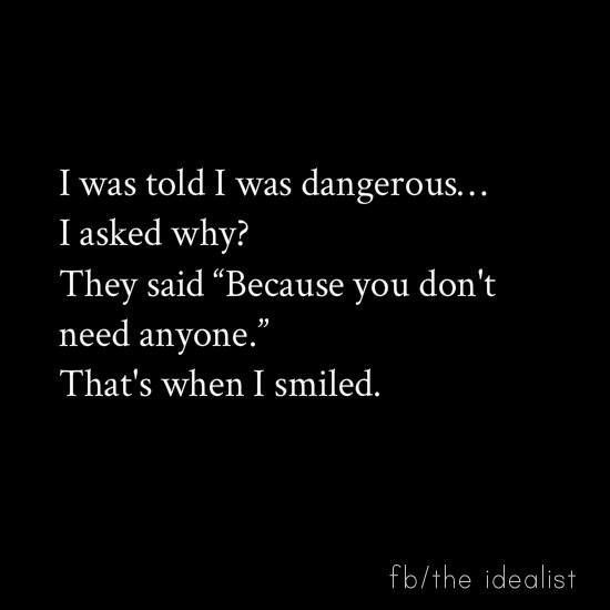 I was told I was dangerous   I asked why  They said  quot  Pinterest