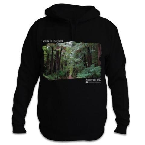 Redwood Forest, Rotorua - Walk in the Park - New Zealand Hoodie