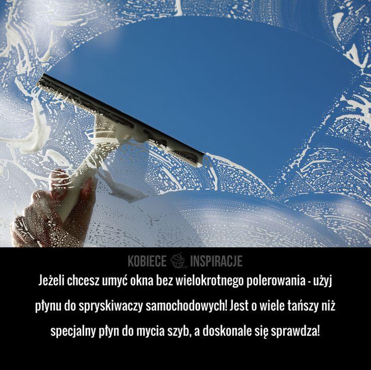 Czym wyczyścić okna aby nie było smug?