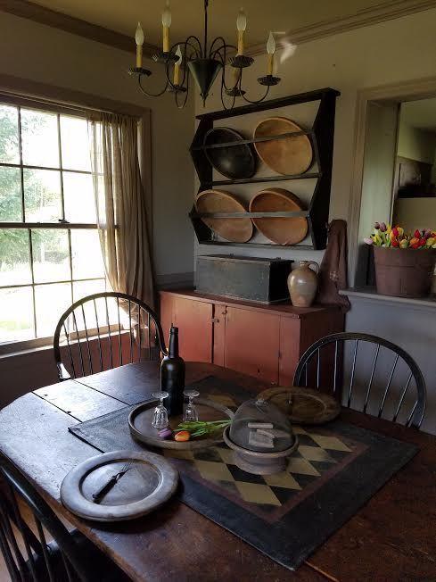 Best 25+ Primitive dining rooms ideas on Pinterest   Fox ... #diningroomideas