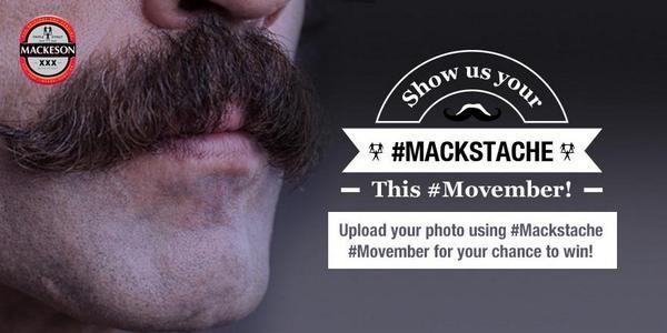 Mackeson Stout Mackstache Contest