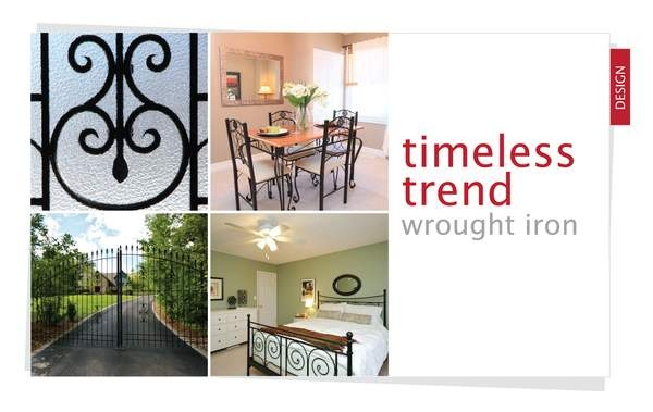 A Timeless Trend - Wrought Iron
