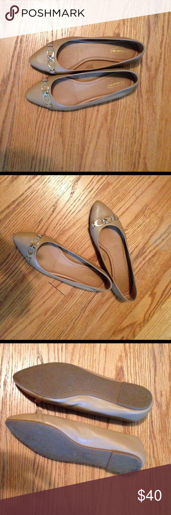 Coach flats - 7.5 Coach flats - 7.5 Coach Shoes Flats & Loafers