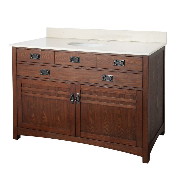 Foremost The Cornell Bath Furniture Collection 48 Inch Vanity Combo By Foremost Bathroom