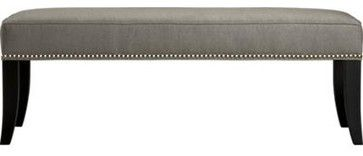 Colette Bench - contemporary - bedroom benches - Crate&Barrel