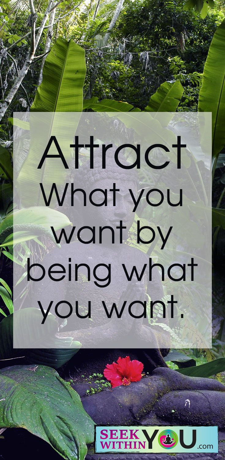 Attract what you want by being what you want. In order to attract what you want, you have to be it. It is believing is seeing not the other way around. Let your mind believe that you are already what you want and the universe will match it. Speak, do and act like the person you desire to be and soon you will become it!  #lawofattraction