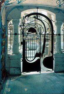 art deco gate