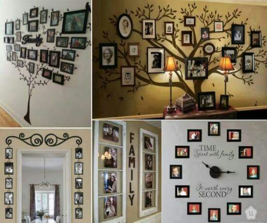Genial I Want To Do The Large Family Tree, The Pictures Around The Door Frames And