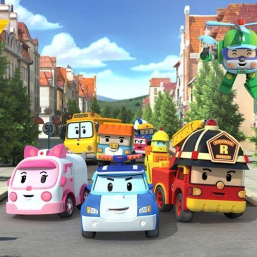 Pcs robocar poli transformation robot car toys south