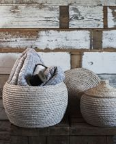 Seagrass Baskets, Also Home, 35-45 pounds