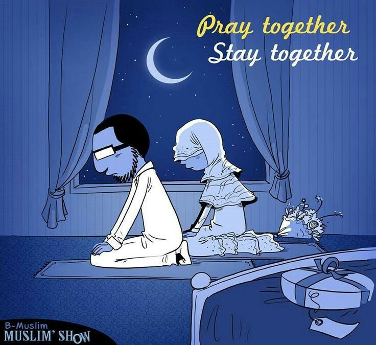 Couples who pray together stay together