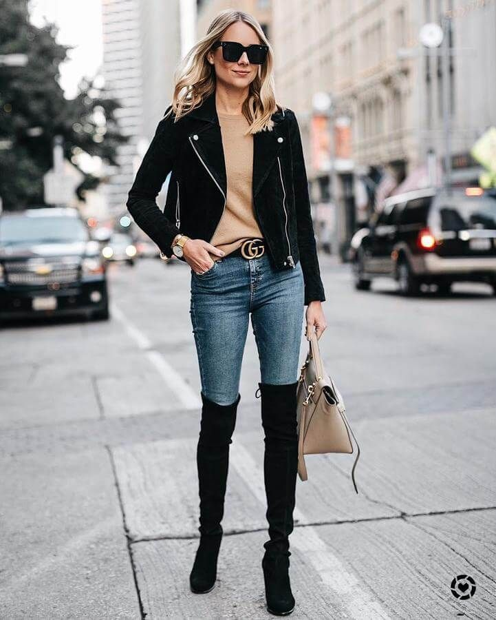 How to Wear Thigh High Boots Without Looking Trashy