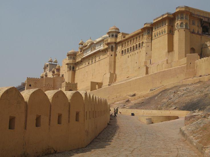 Amber Fort Ramparts Jaipur