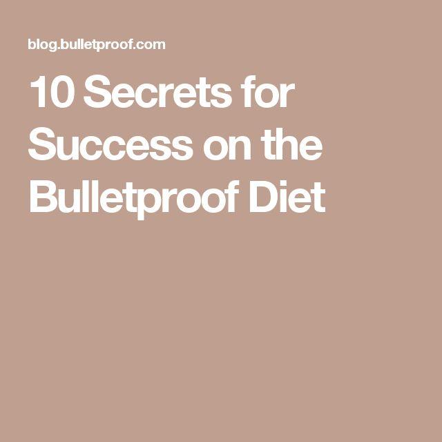 10 Secrets for Success on the Bulletproof Diet