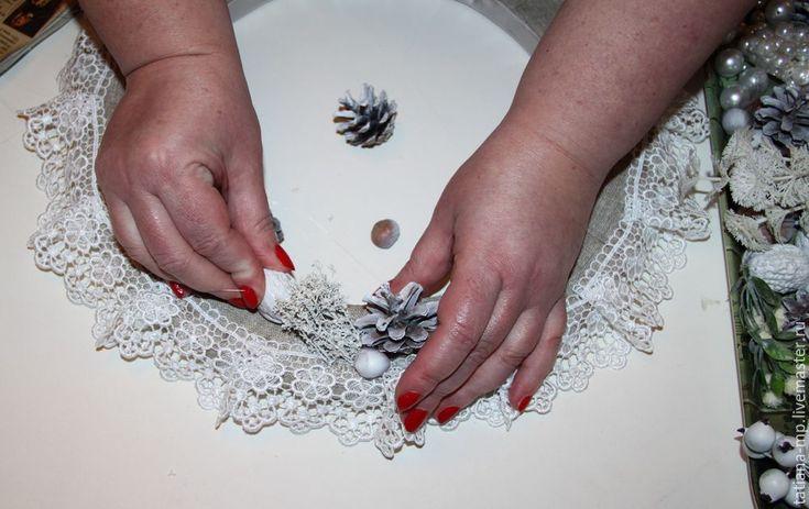 Создаем новогодний венок для дома - Ярмарка Мастеров - ручная работа, handmade