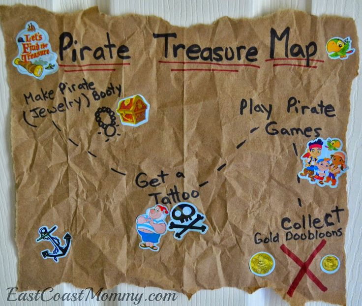 East Coast Mommy: Jake and the Neverland Pirates Party Games & Activities