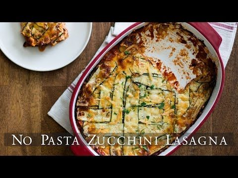 """No Pasta"" Three Cheese Zucchini Lasagna – White on Rice Couple"