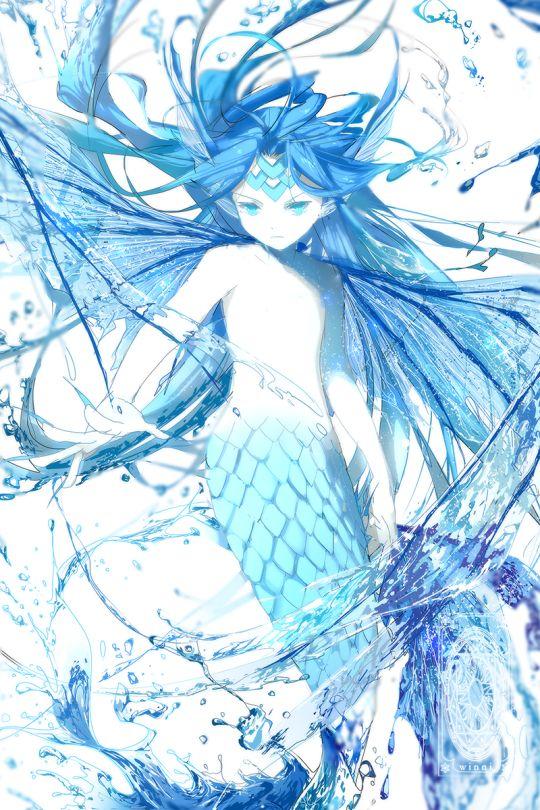 The Watery | Card Captor Sakura #anime #clamp