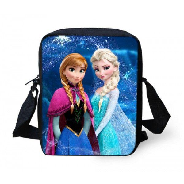 Frost taske med plads til en iPad mini eller andre ting når børnene skal ud af døren