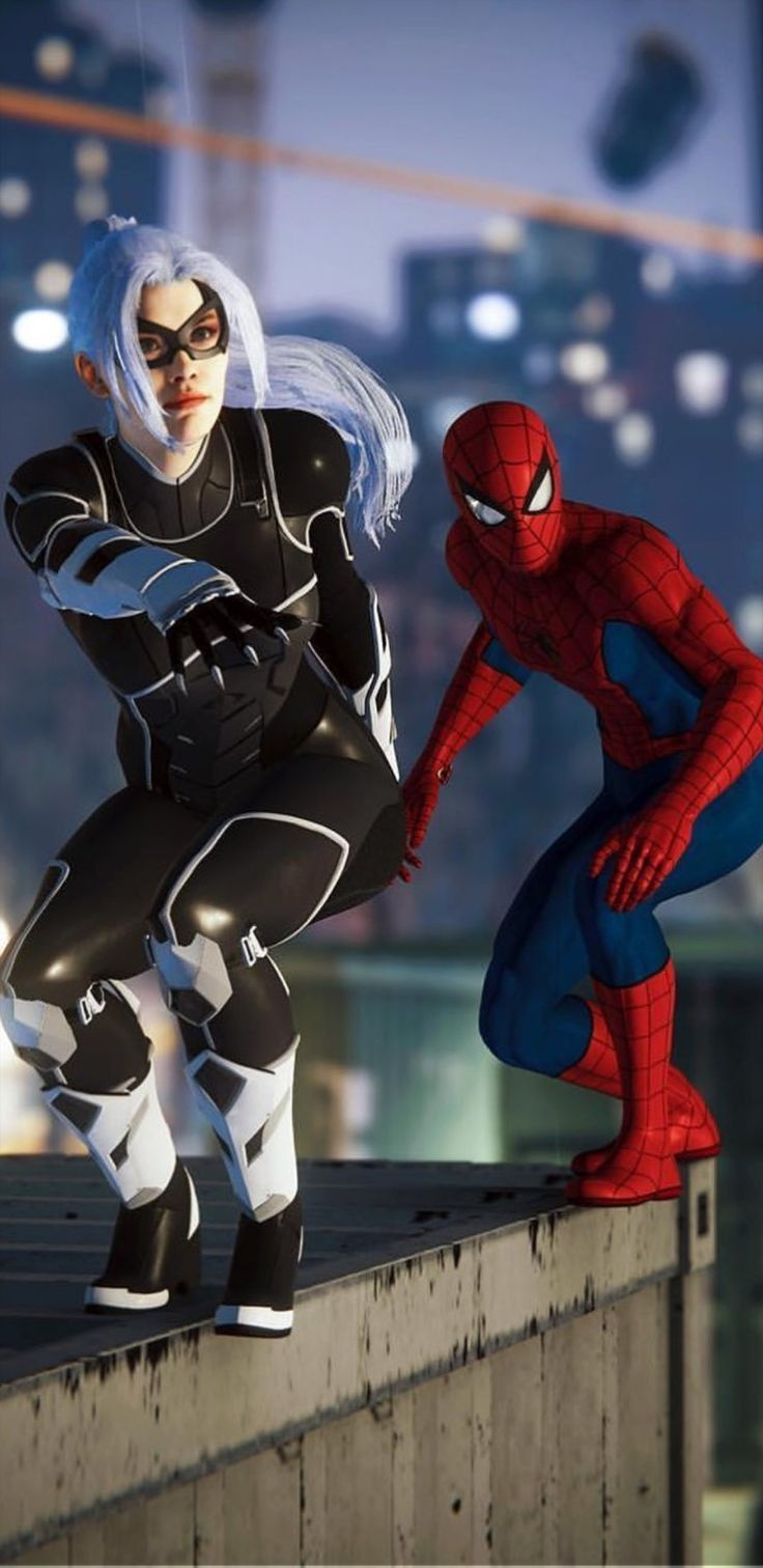 Pin By Baris On Spider Man Heros Epic Black Cat Marvel Spiderman Spiderman Black Cat Black Cat Marvel