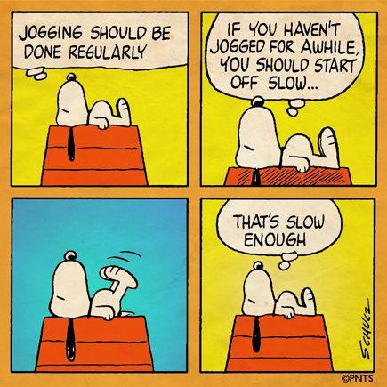 Snoopy - Jogging!                                                                                                                                                                                 More