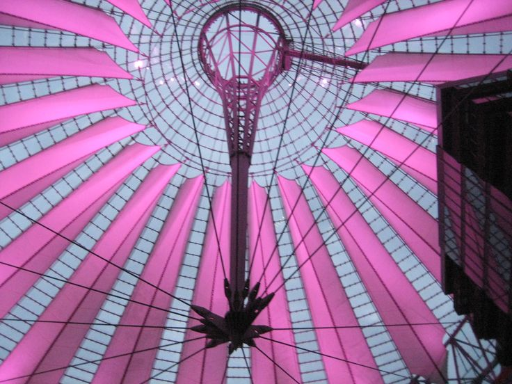 Colourful Sony Center