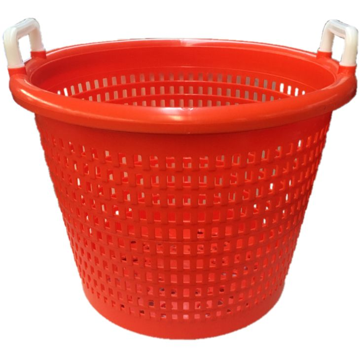 Orange Basket Basket Plastic Baskets Plastic Laundry Basket
