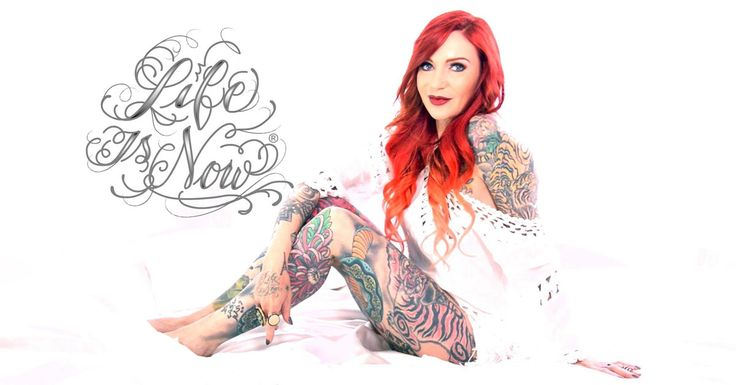 Life is Now fragrances designed by Lea Vendetta! #leavendetta #lifeisnowfragrances #lifeisnow.ink #lifeisnow #tattoo #tattoofragrance #tattoomodel