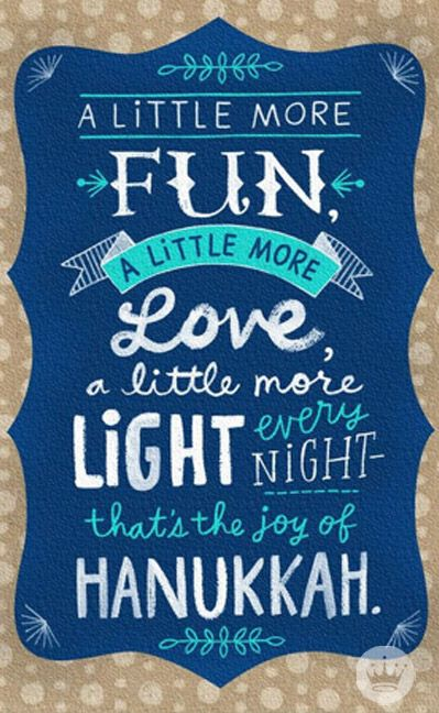 56 best hanukkah images on pinterest hanukkah cards greeting hanukkah brings a little more of everything good hanukkah cards m4hsunfo