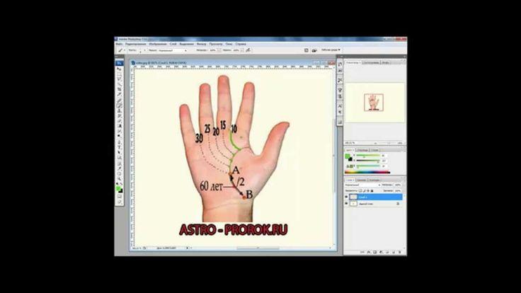 Видео урок по хиромантии, линии и знаки на руке