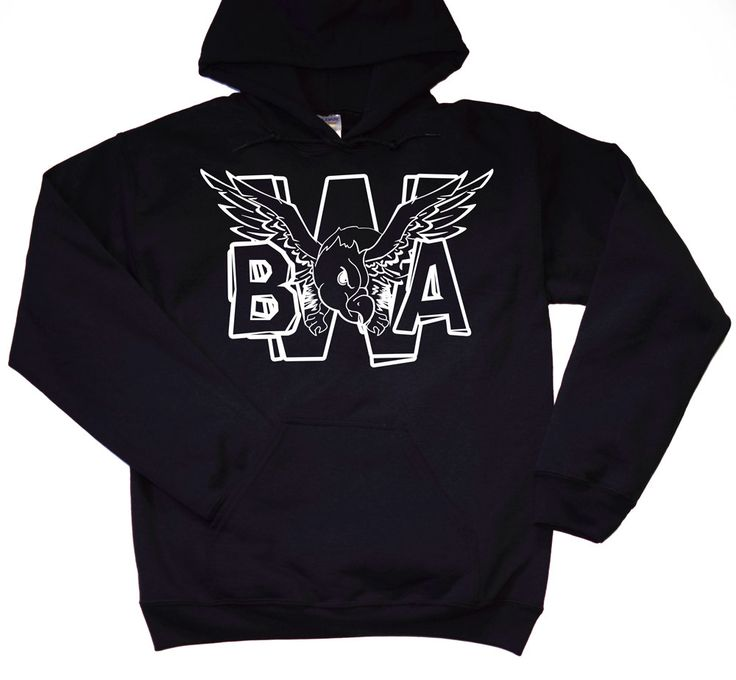 Kevin Gates Hoodie / BWA Limited Edition Eagle Hoodie / Bread Winners Association Tour Merchandise by LintRollers on Etsy
