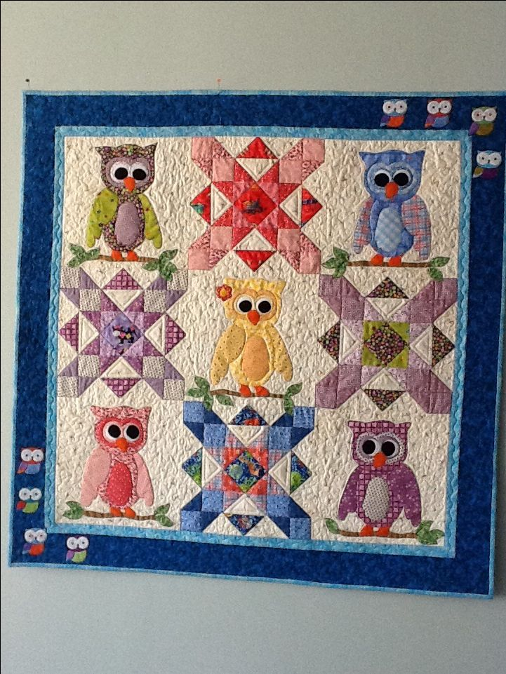Baby Quilt Patterns Mccalls : 25+ best ideas about Owl Quilts on Pinterest Owl quilt pattern, Owl baby quilts and Baby quilts