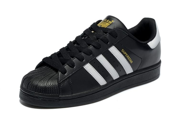 2016 Adidas superstar Herren & Damen's Sport Schuhe Schwarz/Weiß C77123