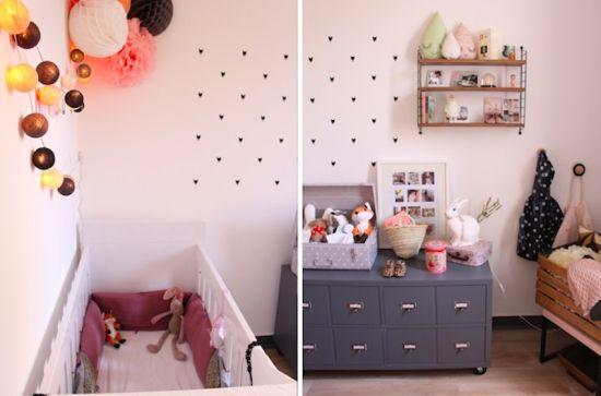 Chambre enfant b b marilou d co d coration accessoire blueberryhome chambre b b pinterest for Accessoire deco chambre bebe