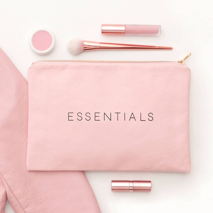 Are you interested in our blush pink pouch? With our blush pink makeup bag you need look no further.