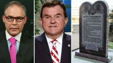 Okla. AG, state representative on Ten Commandments statue | Fox News Video