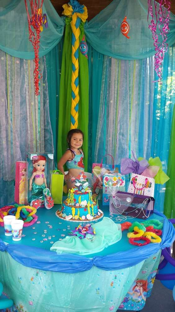 little Mermaid Birthday Party Ideas   Photo 4 of 13   Catch My Party