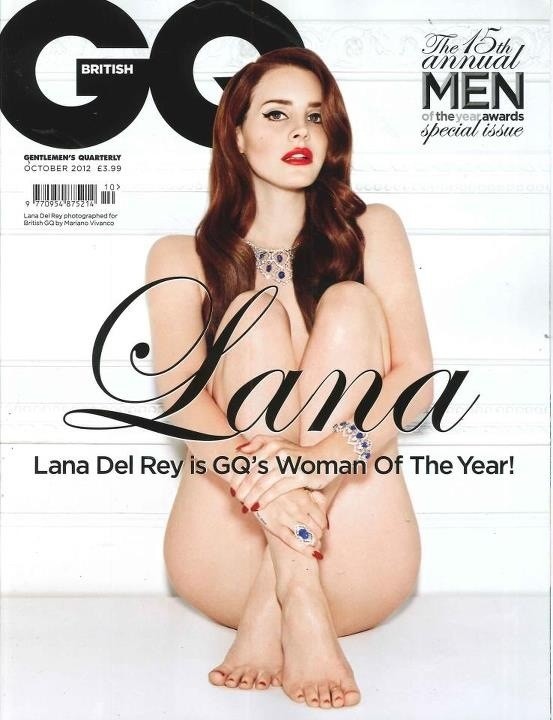 Lana Del Rey is woman of the year.