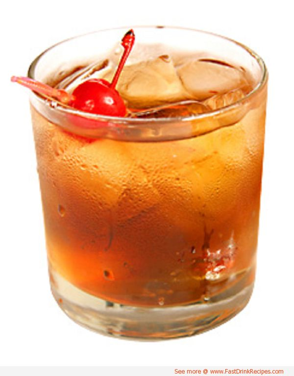 Father s day cocktails rye whiskey sweet vermouth dry for Fruity mixed alcoholic drink recipes