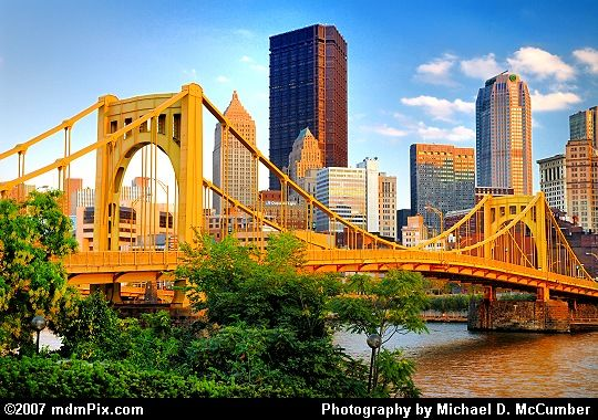 """The ""Burgh""...my hubby's hometown and a place we've visited a few times since we met."