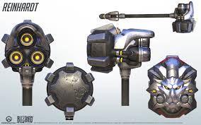 Resultado de imagen para reinhardt weapon