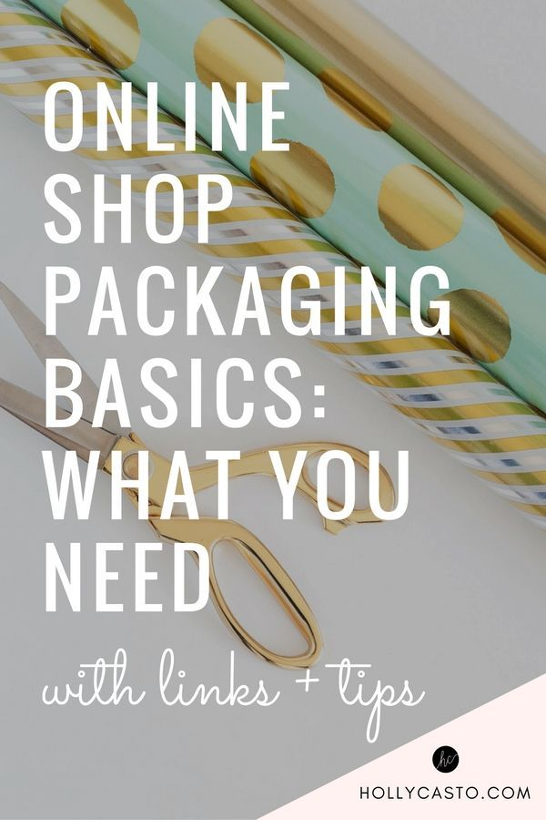 """When I was getting started with my business, one of the biggest challenges that I ran into was figuring out how to package my orders and where to purchase packaging supplies. I thought that a post covering all of the basics might be helpful for those of you facing the same thing. Let's get started! Here's an idea of what you will need, along with photos of what I use for my shop... 1. Inner Packaging This is the more """"pretty"""" packaging for your items. If your item was being..."""