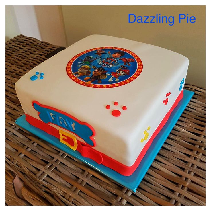 Paw Patrol taart/cake made by Dazzling Pie