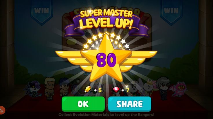 Attained Super Master Level 80! #milestone #super #master #levelup #80 #linerangers