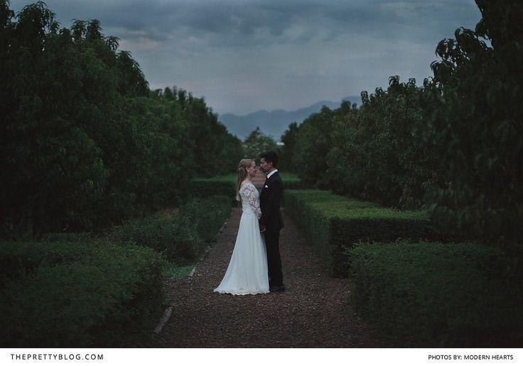 Elegant Farm Wedding  Babylonstoren Franschhoek