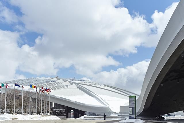 Canadian structures that illustrate its history, beauty & diversity: Olympic Stadium, Montreal, Quebec