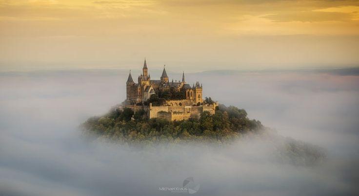 via http://ift.tt/2pcn8ku Castle Hohenzollern by Michael Kraus Follow us on Facebook http://ift.tt/1ZBR6Ym