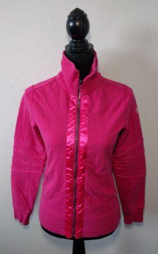Lululemon Mogul Jacket Ladies Size 4 Yoga Sweater Full Zip Pink Rare Quilted