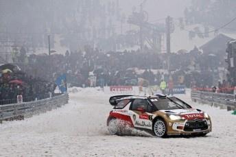 Sebastien Loeb wins Monte in difficult conditions - Speedcafe.co.nz