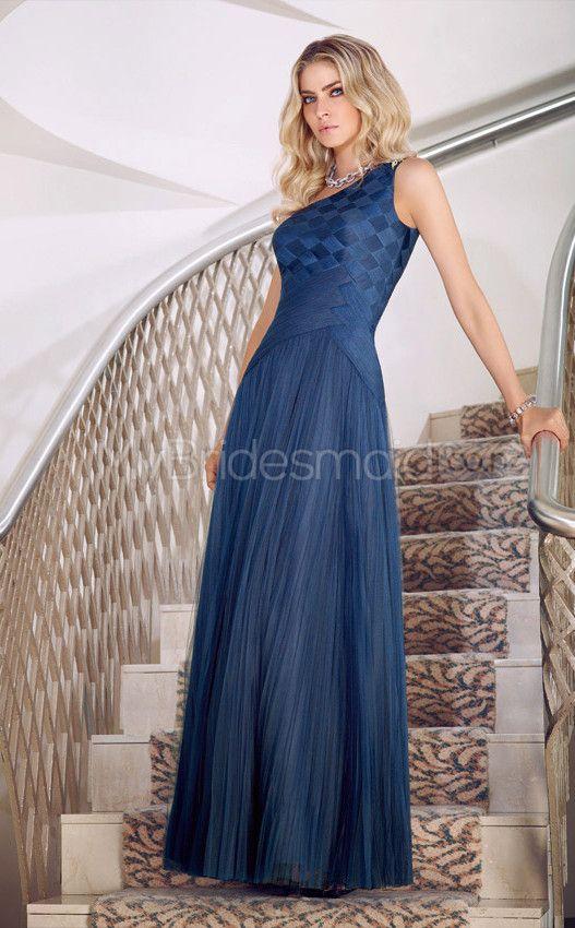 A-line One Shoulder Tulle One Shoulder Ball Dresses(JT632)
